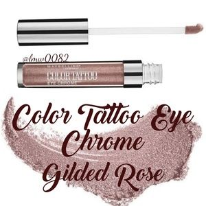 Color Tattoo Eye Chrome Eyeshadow Gilded Rose